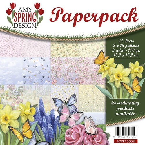 Amy Design Paper Pack - Spring