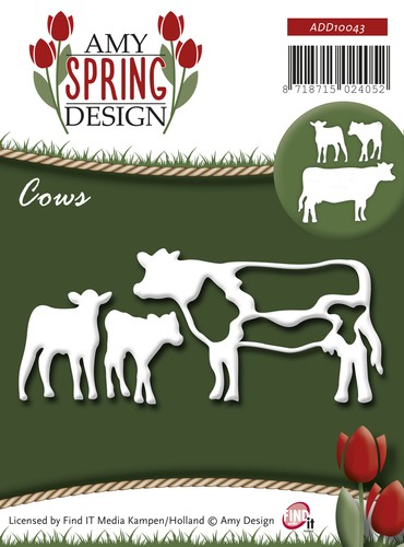 Amy Design Stans - Spring - Cows