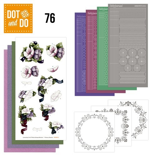 Dot & Do Hobbydots Pakket - Flowers