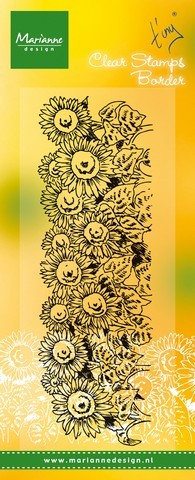 Clearstamps Marianne Design - Sunflowers