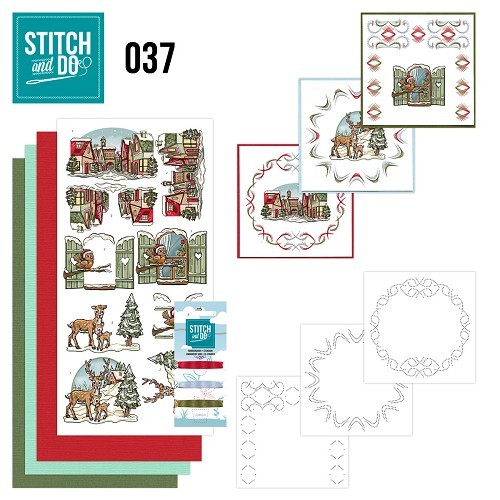 Stitch and Do Pakket - kerst mix
