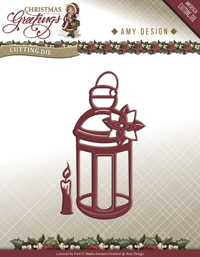 Amy Design Stans - Christmas Greetings - lantern