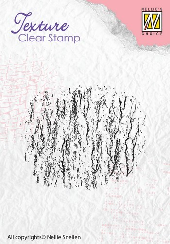 Clearstamp Nellie Snellen - Texture - Bark