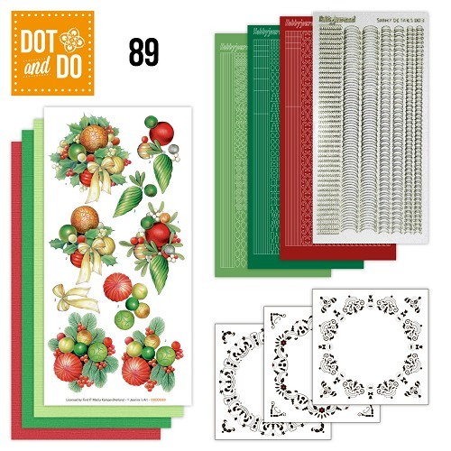 Dot & Do Hobbydots Pakket - kerstballen