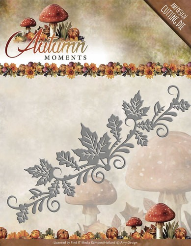 Amy Design Stans - Autumn Moments - leaves border