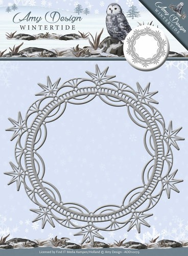 Amy Design Stans - Wintertide - ice crystal frame