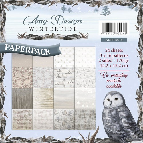 Amy Design Paper Pack - Wintertide