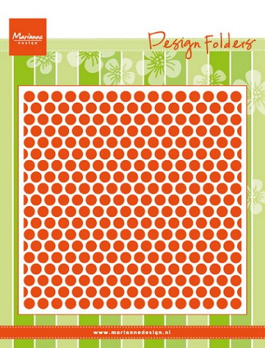 Embossing Folder Marianne Design - stippen