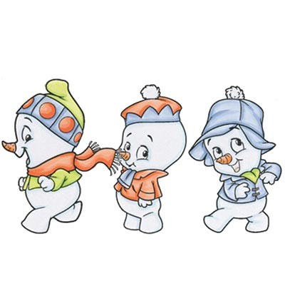 CC Designs Stamps - Roberto`s Rascals - Snow Boys