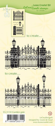 Clearstamps Leane Creatief - Garden Gate
