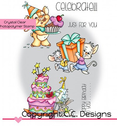 Clearstamps CC Designs - Celebrate