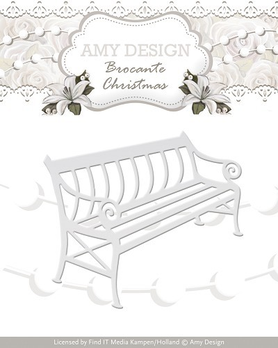 Amy Design Stans - Brocante Christmas - bench