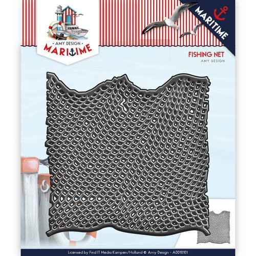 Amy Design Stans - Maritiem - fishing net