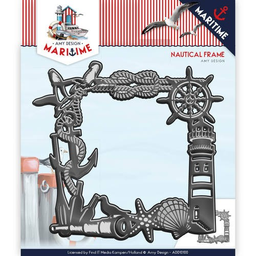 Amy Design Stans - Maritiem - nautical frame