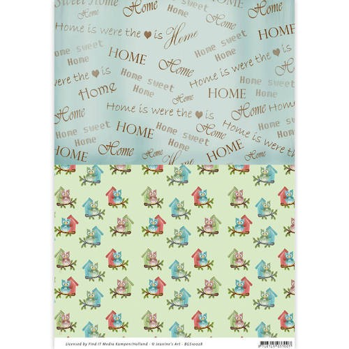 Background Sheet Yvonne Creations - Moving Madness BGS10028
