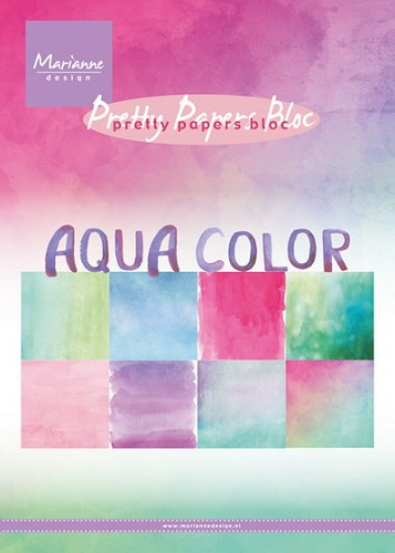 Pretty Papers Bloc - Aqua Color