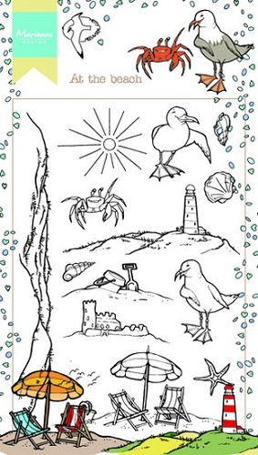 Clearstamps Marianne Design - At the beach