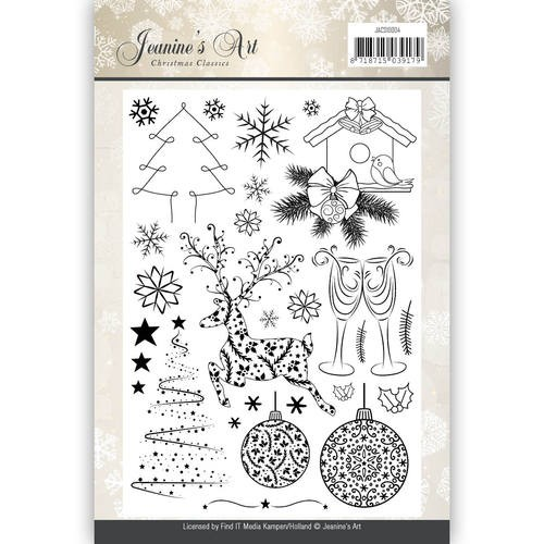 Clearstamps Jeanine`s Art - Christmas Classics