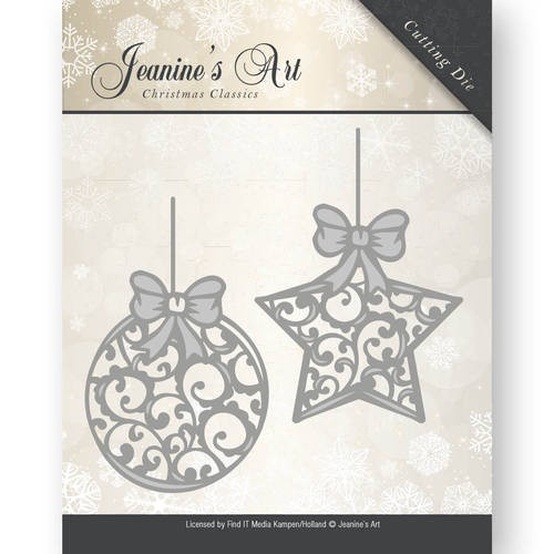 Jeanine`s Art Stans - Christmas Classics - christmas ornaments