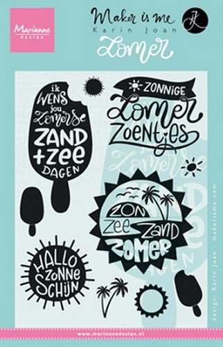 Clearstamps Marianne Design - Karin Joan - zomer