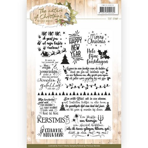 Clearstamps Precious Marieke - The Nature of Christmas (tekst)