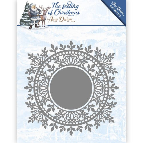 Amy Design Stans - The Feeling of Christmas - Ice Crystal Circle