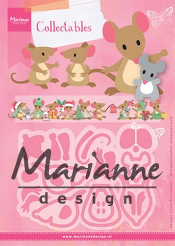 Collectables Marianne Design - Eline`s Muizenfamilie