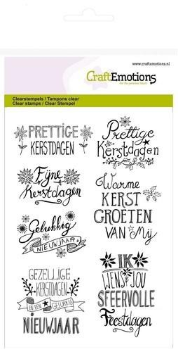Clearstamps Craft Emotions - christmas handlettering