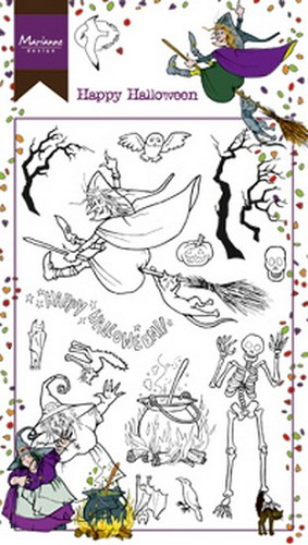 Clearstamps Marianne Design - Hetty`s Happy Halloween