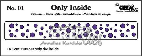 Crealies Stans - Only Inside 01 (rondjes)
