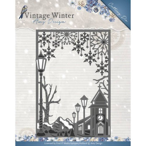 Amy Design Stans - Vintage Winter - village frame straight