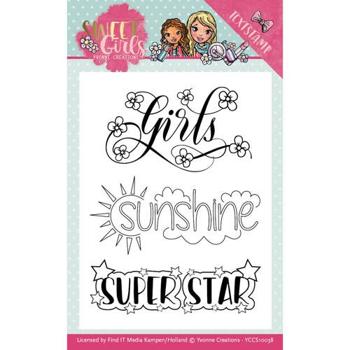 Clearstamps Yvonne Creations - Sweet Girls