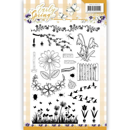 Clearstamps Precious Marieke - Early Spring