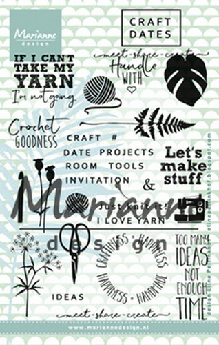Clearstamps Marianne Design - Craft Dates 1