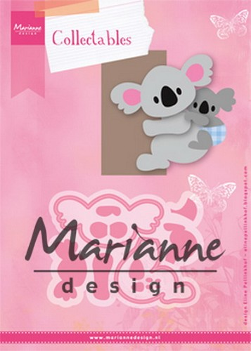 Collectables Marianne Design - Eline`s Koala & baby