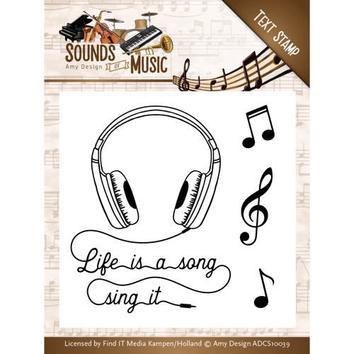 Clearstamps Amy Design - Sounds of Music