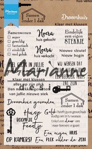 Clearstamps Marianne Design - droomhuis