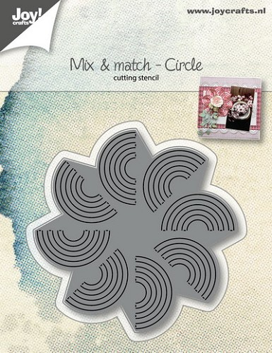 Joy Stencil - Mix & Match - circle