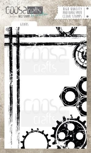 Coosa Crafts Clearstamp - gears