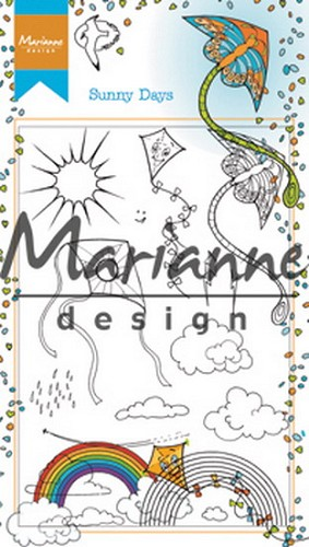 Clearstamps Marianne Design - Hetty`s Sunny Days