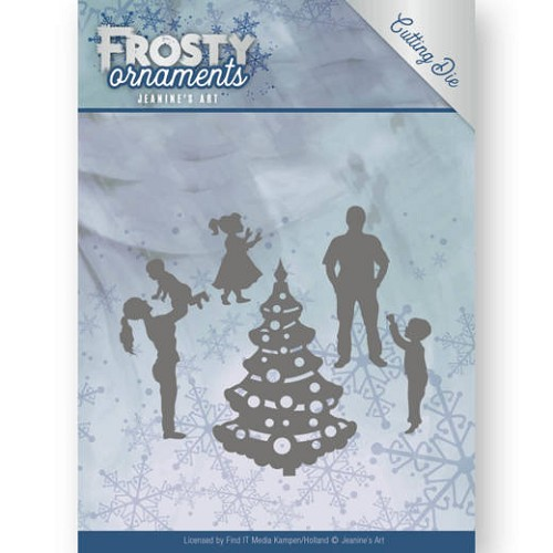 Jeanine`s Art Stans - Frosty Ornaments - happy family