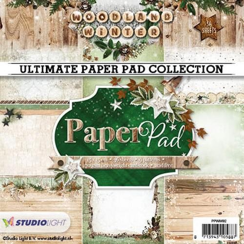 Paper Pad Studio Light - Woodland Winter 92
