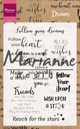 Clearstamps Marianne Design - Dream