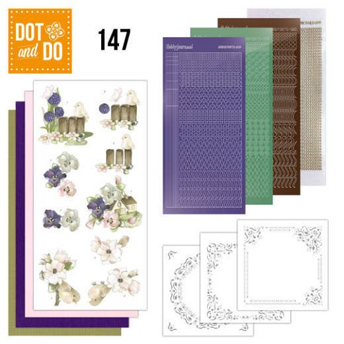 Dot & Do Hobbydots Pakket - happy spring