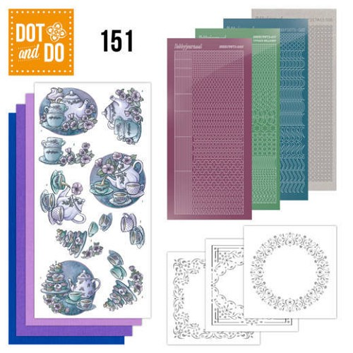 Dot & Do Hobbydots Pakket - tea time