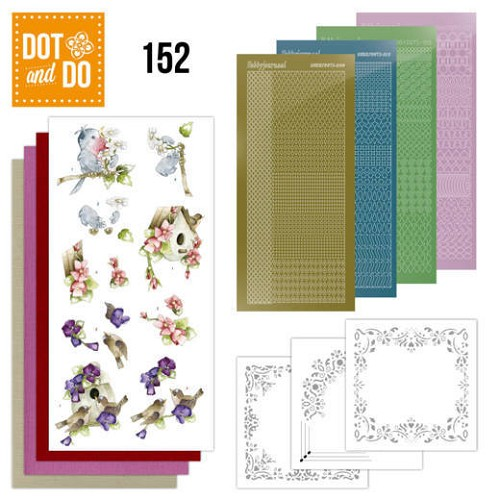 Dot & Do Hobbydots Pakket - spring in the air