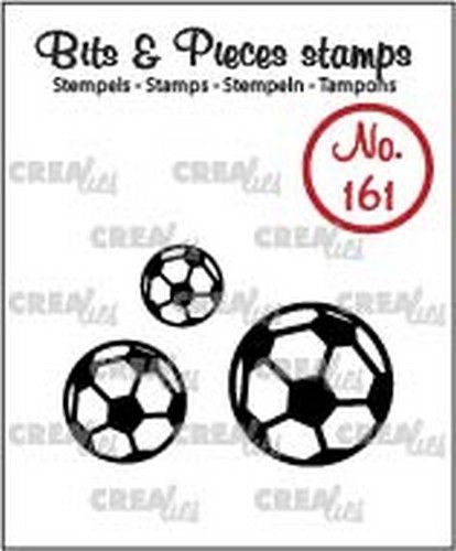 Clearstamp Crealies - Bits & Pieces 161 - voetballen