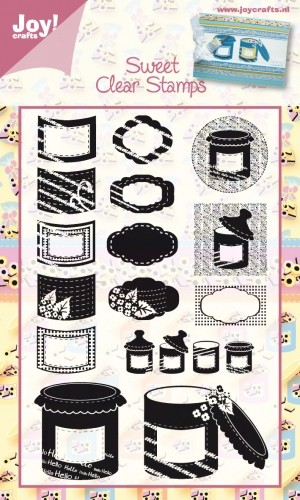 Joy Clearstamps - Sweet